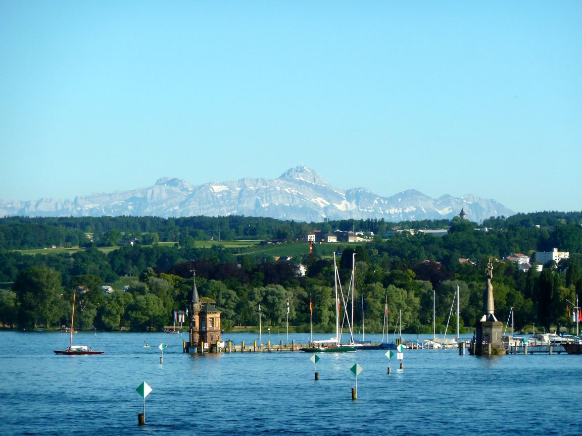 Harbour & Alps