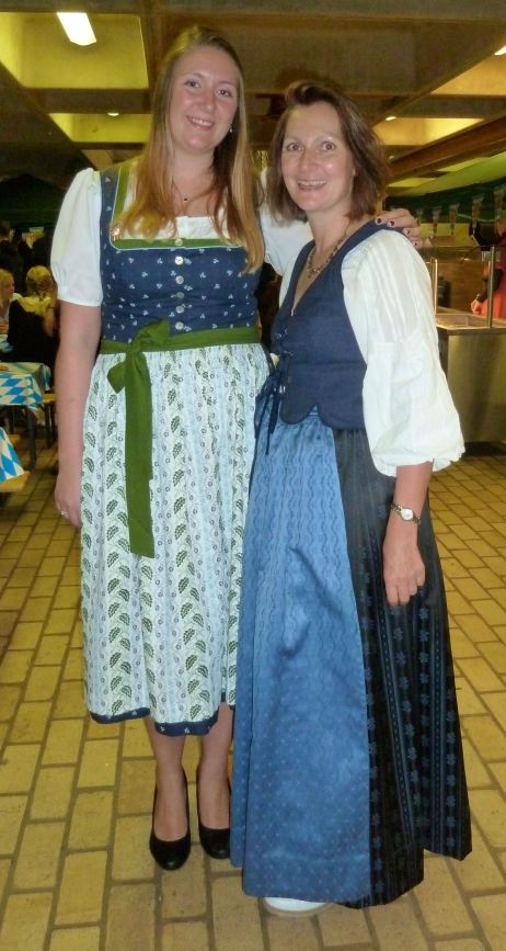 Christine und Angela Oktoberfest 2018