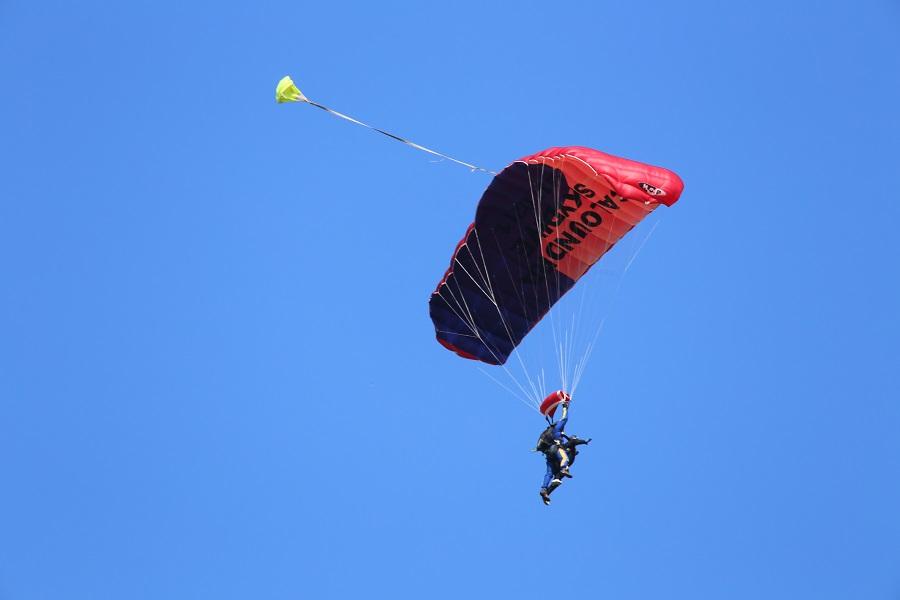 ben's sky dive