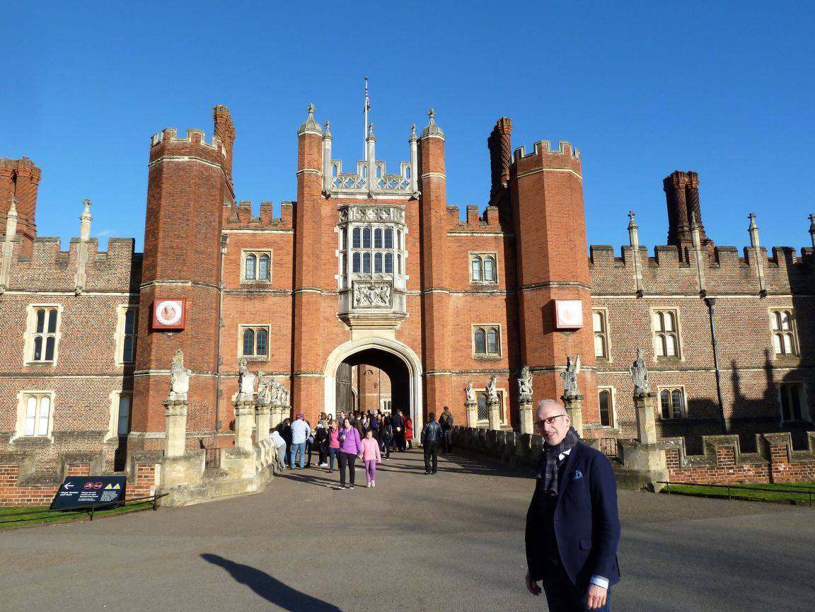 Thierry Hampton Court March 2019