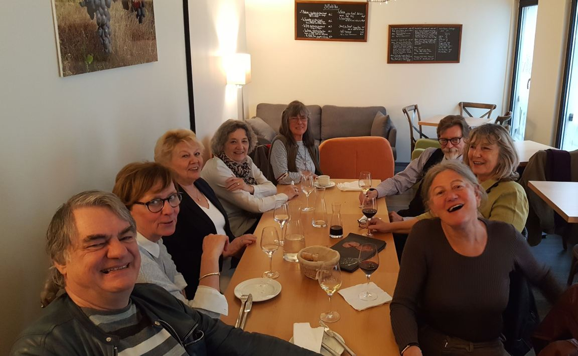 Fontainebleau meal may 2019