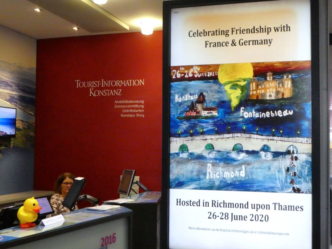 Poster in Konstanz
