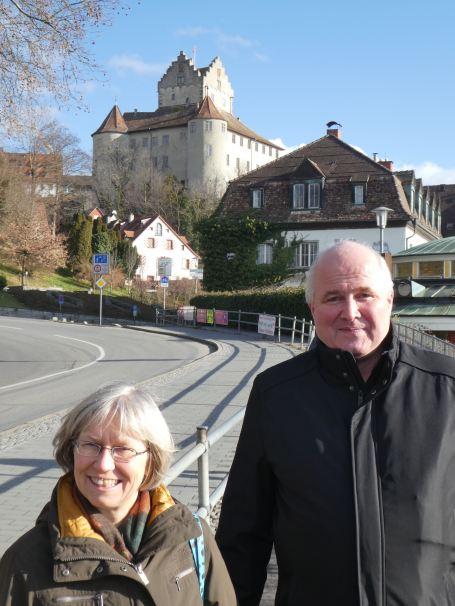 Ulrike & Hans-Martin at Meersburg